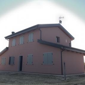 Casa in legno con sistema Platform